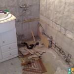 Демонтаж ванны с выносом