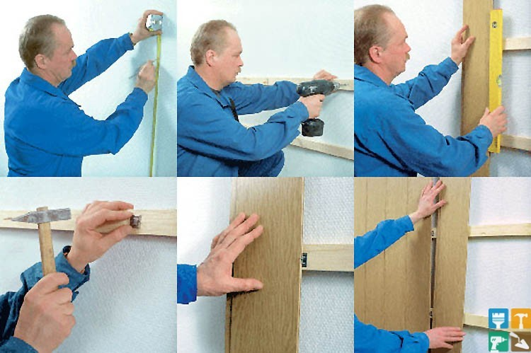 Готовим поверхность к монтажу стеновых панелей