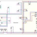 прокладки электропроводки в квартире схема 2