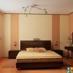 Капитальный ремонт квартир спальня пол и стены