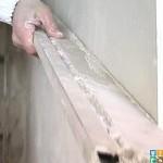 выравнивание стен правилом как держать