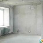 трех комнатная квартира Черновые работы в новостройке