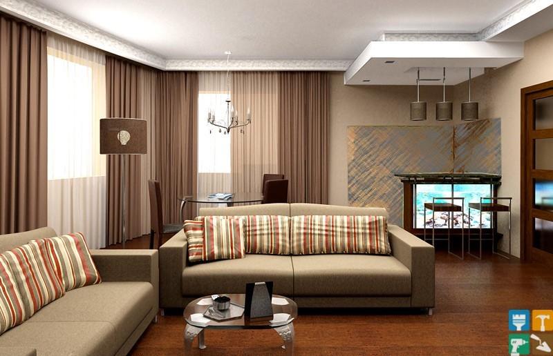 Дизайн 3-х комнатной квартиры на Ходынском бульваре
