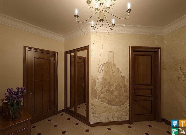 Дизайн и ремонт квартиры в классическом стиле