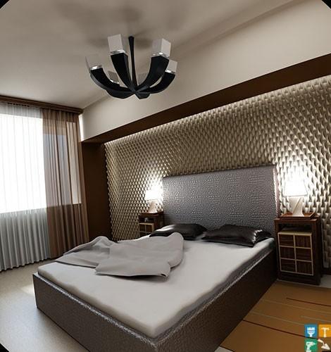 Дизайн квартиры на ул. Лобачевского с экономией 98 000 руб. спальня
