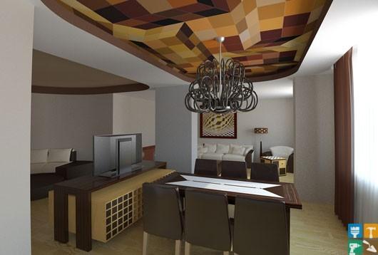 Дизайн квартиры на ул. Лобачевского с экономией 98 000 руб. столовая