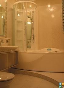 Дизайн квартиры рядом с м. Октябрьская ванная комната