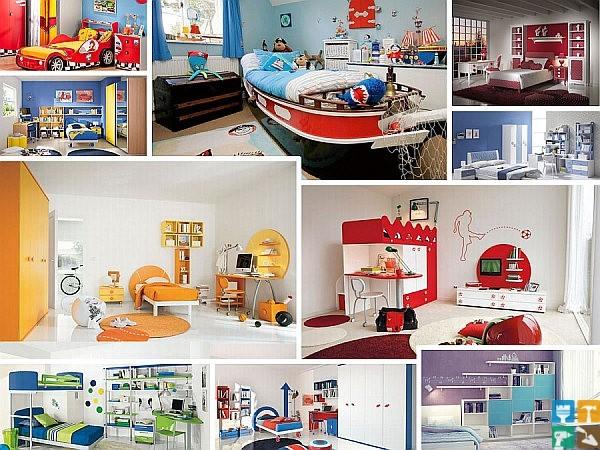 Дизайн детской комнаты для малыша фото