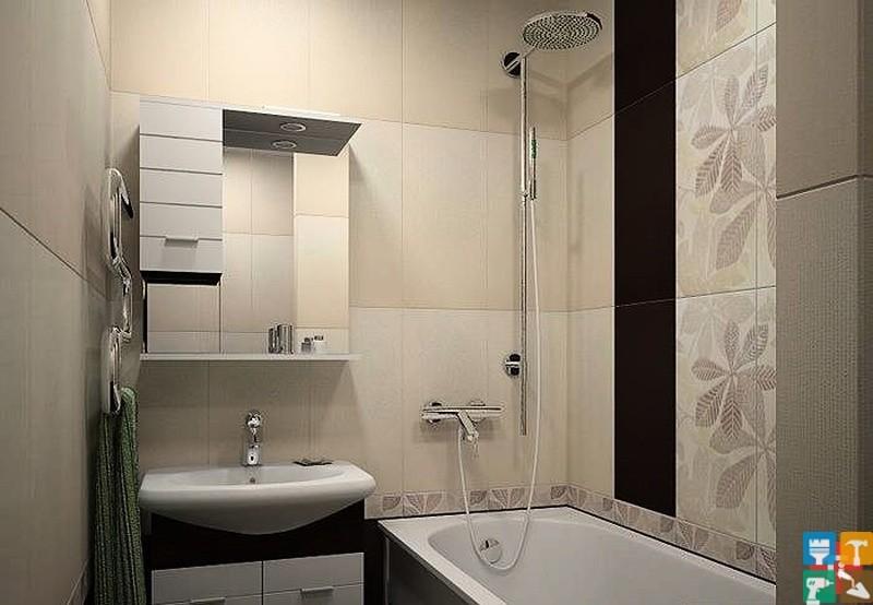 Маленькие ванные комнаты дизайн в квартире хрущевка