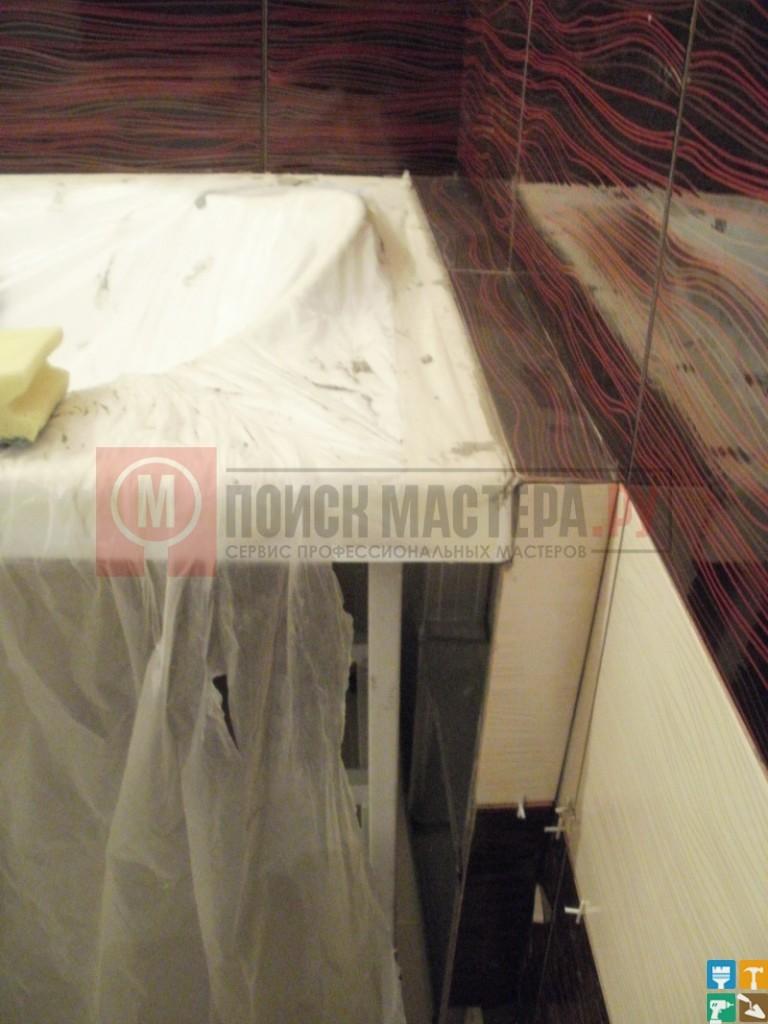 Ремонт раздельного санузла 5 кв.м. ванна