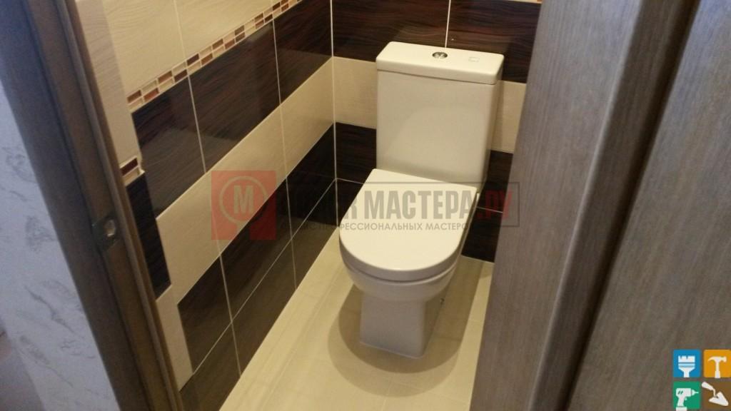 Ремонт раздельного санузла 5 кв.м.  туалет