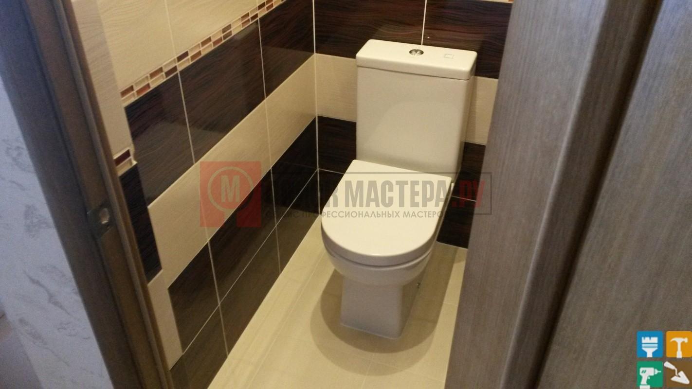 Дизайн туалета 1.5 кв.м 2017-2018