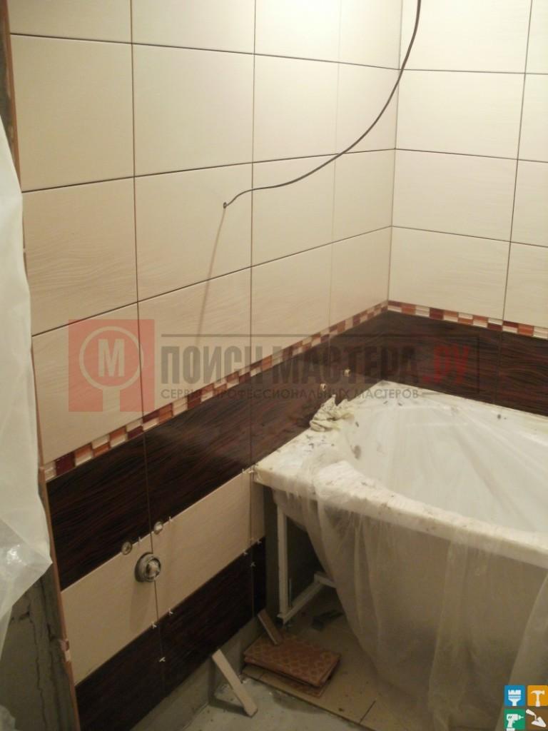 ванна монтаж Ремонт раздельного санузла 5 кв.м.