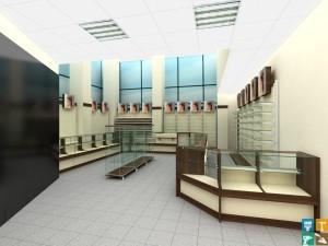ремонт магазинов под ключ по дизайн проектам макет