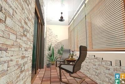 дизайн интерьеры балконов и лоджий