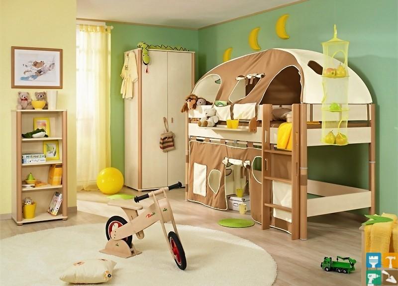 Идеи детских кроватей для мальчиков фото