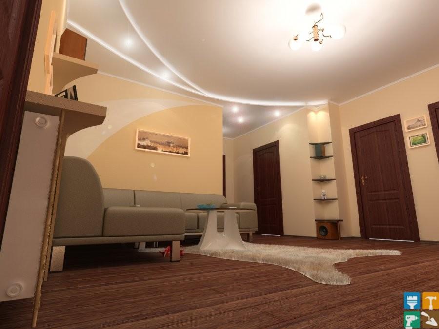 Примеры ремонтов квартир 164 и более м. кв.