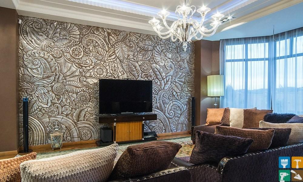Дизайн интерьера квартиры площадью 200 м2