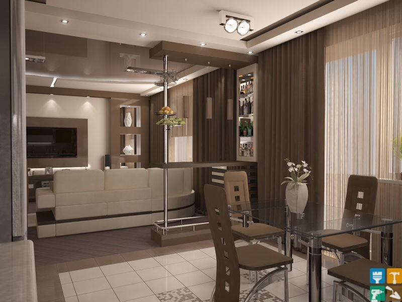 Дизайн проект ремонта 4-х комнатной квартиры