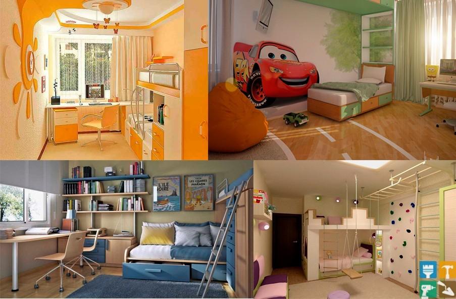 Виды дизайнов детских комнат для мальчиков
