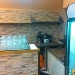 Отделака и капитальный ремотнт кафе зал с мебелью уже расставленной