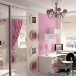 Ремонт детской комнаты для девочки4