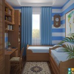 Ремонт детской комнаты для подростка 7