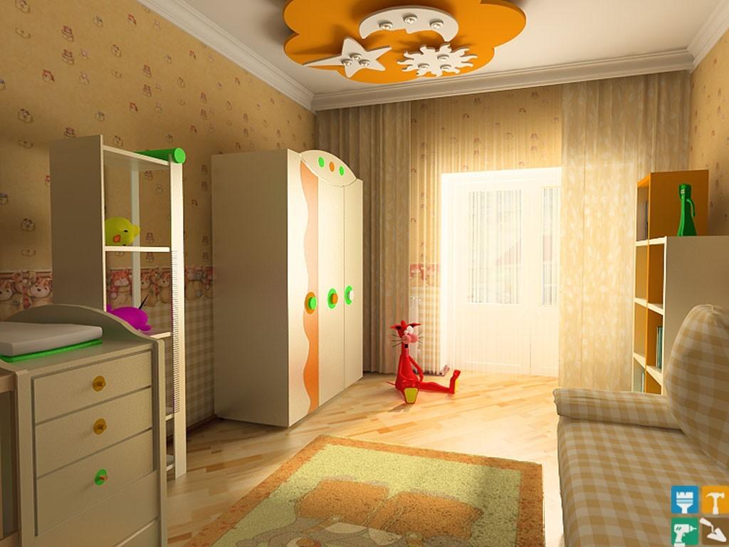 Ремонт детской комнаты под ключ, капитальный ремонт детской .