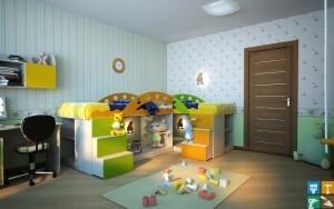 ремонт детской комнаты7
