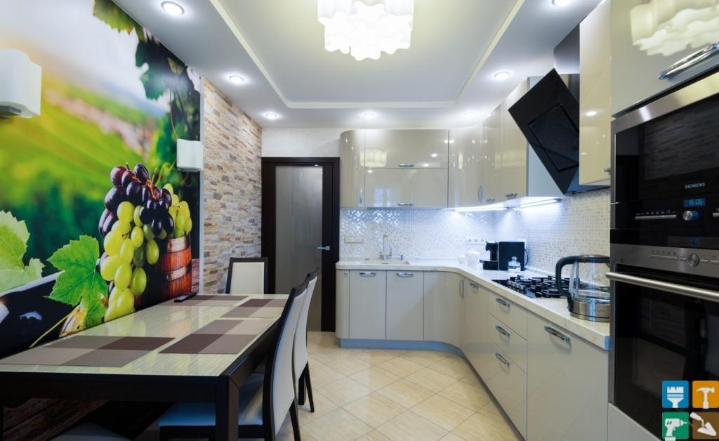 Дизайн кухни в частном доме. 134 фото интерьеров